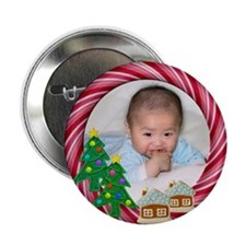 "Put Your Photo Here 2.25"" Button (100 pack)"