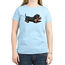Doxie With Bone T-Shirt
