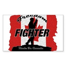 Canadian Freedom Fighter Decal