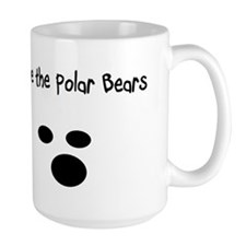 Save the polar bears Mug