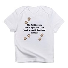 Well Trained Shiba Inu Owner Infant T-Shirt