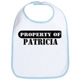 Property of Patricia Bib
