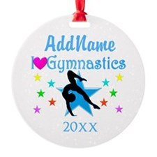 EXCITING GYMNAST Ornament