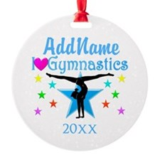 FIERCE GYMNAST Ornament