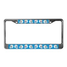 Mexican Sugar Skulls License Plate Frame