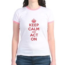 Keep Calm Act On T-Shirt
