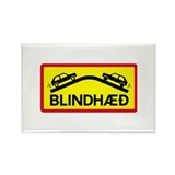 Blind Rise - Iceland Rectangle Magnet (100 pack)