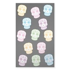Colorful Sugar Skulls Decal