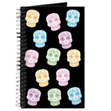 Colorful Sugar Skulls Journal