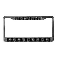 Sugar Skull License Plate Frame