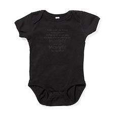 rollin-down-the-street-pin-black Baby Bodysuit