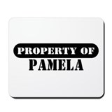 Property of Pamela Mousepad