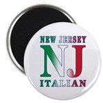 New Jersey Italian Magnet