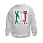 New Jersey Italian Kids Sweatshirt