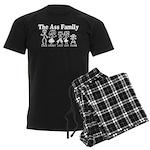 The Ass Family Men's Dark Pajamas