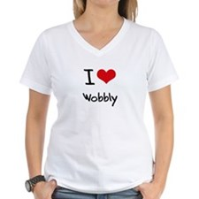 I love Wobbly T-Shirt