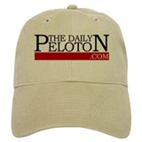 Daily Peloton Retro White Baseball Cap