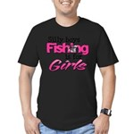 Silly Boys - Fishing Is For Girls Men's Fitted T-S