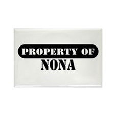 Property of Nona Rectangle Magnet (10 pack)