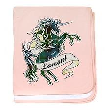 Lamont Unicorn baby blanket