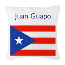 Juan Custom Boricua 23 Woven Throw Pillow