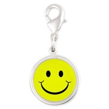 yellow smiley face Charms
