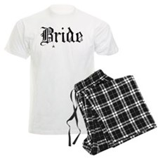 Gothic Text Bride Pajamas