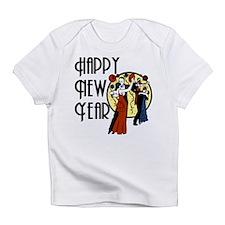 Retro Happy New Year Infant T-Shirt