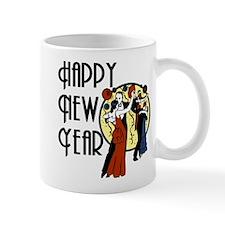 Retro Happy New Year Mug