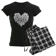 Skull Heart Pajamas