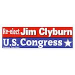 Jim Clyburn for Congress Bumpersticker