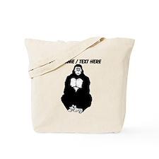 Custom Gorilla Sketch Tote Bag