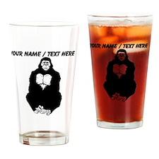 Custom Gorilla Sketch Drinking Glass