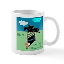 Fun Grand Prix Horse Jumper Mug