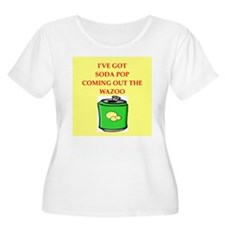 soda pop Plus Size T-Shirt