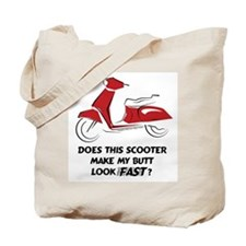 Fast Butt (Red) Tote Bag