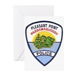 Pleasant Point Police Greeting Cards (Pk of 10