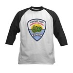 Pleasant Point Police Kids Baseball Jersey