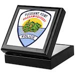 Pleasant Point Police Keepsake Box