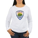 Pleasant Point Police Women's Long Sleeve T-Shirt