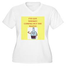 whiskey Plus Size T-Shirt