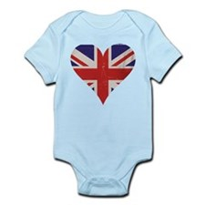 UK Heart Body Suit