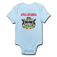 Antigua and Barbuda Coat Of Arms Designs Infant Bo