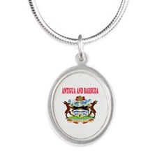 Antigua and Barbuda Coat Of Arms Designs Silver Ov