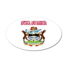 Antigua and Barbuda Coat Of Arms Designs Wall Decal