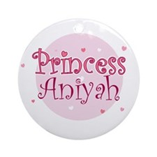 Aniyah Ornament (Round)