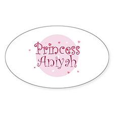 Aniyah Oval Decal