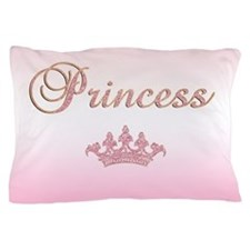 Pink Princess Pillow Case