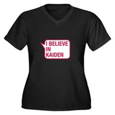 I Believe In Kaiden Plus Size T-Shirt