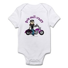 Light Biker Infant Bodysuit
